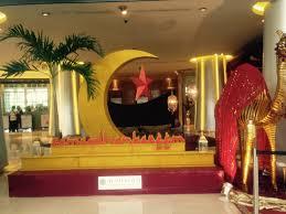 Dekorasi Ramadhan Emas di Hotel