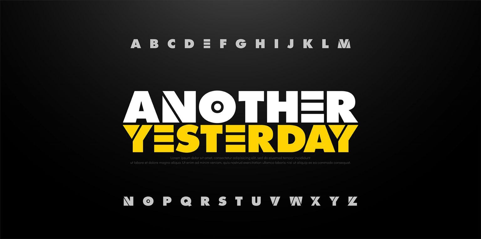 sử dụng font chữ đọc được là đủ mà nó còn sẽ thể hiện được tính cách thương hiệu của bạn.