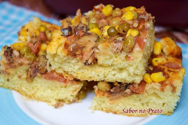 torta de sardinha facil