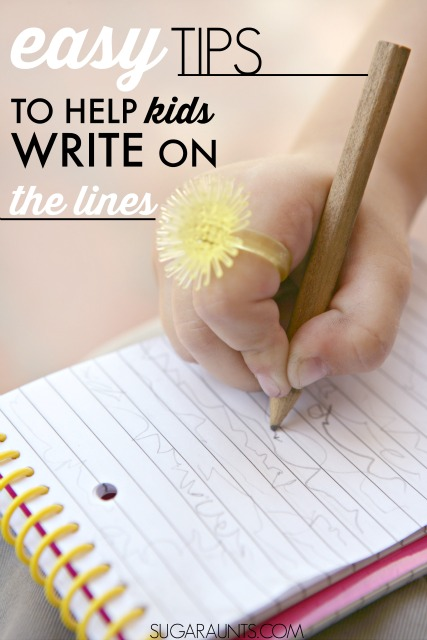 Tips For Helping Kids To Write On The Lines In Handwriting Problems. Ideas  To Help