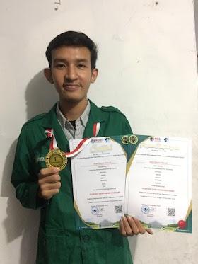 Anjar Royyan Hidayat, Mahasiswa Uhamka Peraih Medali Emas OSM 2020