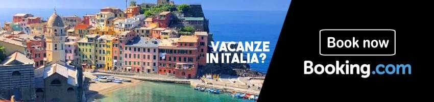 Prenota il tuo viaggio in Italia con Booking.com