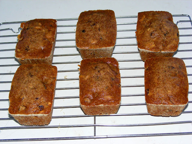 Mini gluten free tea cakes. Baked and photographed by Susan Walter.