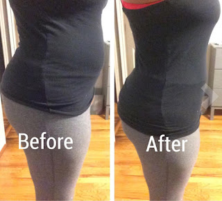 waist trainer pictures before and after
