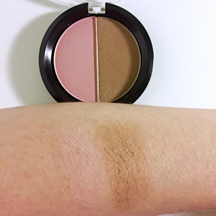 e.l.f. Bronzed Beauty Blush & Bronzer swatches