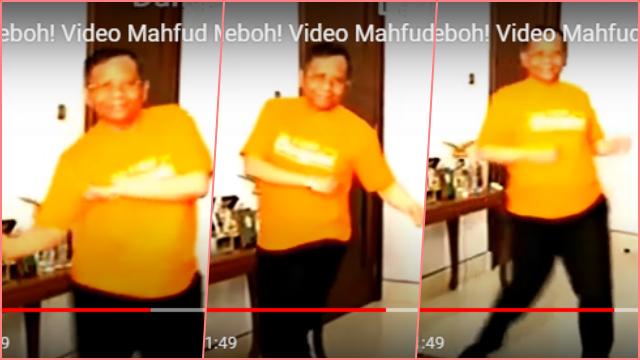 Viral Video Mahfud MD Goyang Dangdut Lalu Tantang Yusril dan HNW, Menkopolhukam Beri Klarifikasi Begini