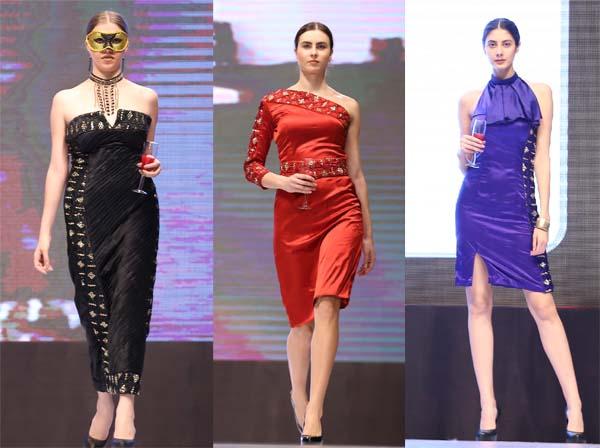 रैंप पर दिखा युवा फैशन डिजाइनरों के कलेक्शन का 'जलवा'
