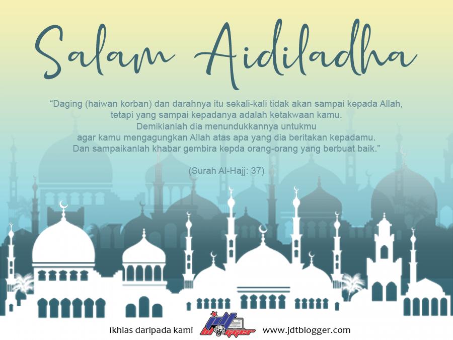 Selamat Menyambut Hari Raya Aidiladha 1442H