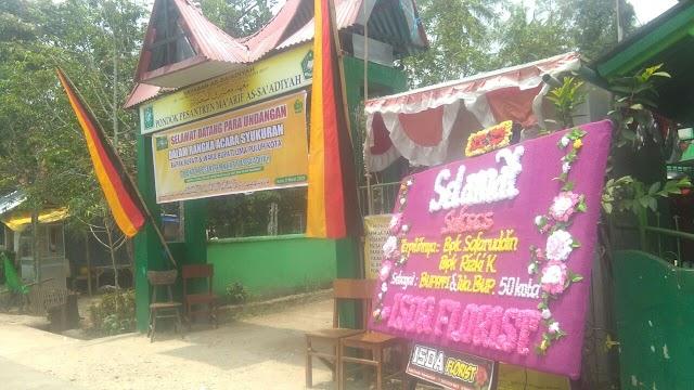 Buya Sudirman Syair gelar acara Syukuran atas Pelantikan Bupati Lima Puluh Kota sekaligus selamatan CPNS Menantu