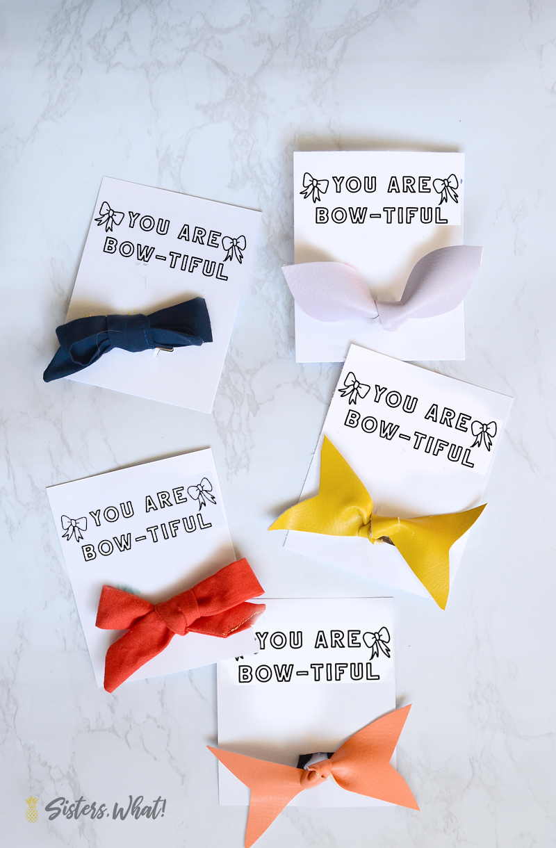 free printable valentine for little girls