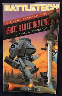 Portada del libro Asalto a la ciudad imperial, de Michael A. Stackpole