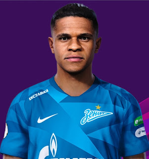 PES 2021 Faces Douglas Santos by Korneev