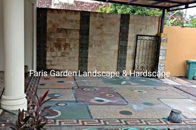 Jasa Tukang Batu Sikat Carport Malang - Jasa Pembuatan Lantai Carport di Malang