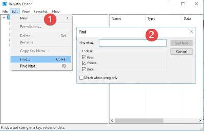 طريقة حذف البرامج من جذورها فى ويندوز 7, 8, 10 عن طريق بدون ادوات او برامج