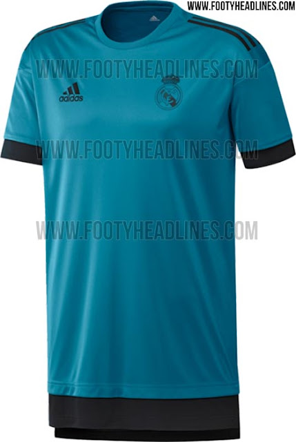 Leaked: Real Madrid 2017-18 Pre Match Jersey / Shirt