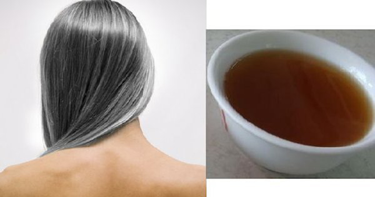 Image result for black tea for white hair