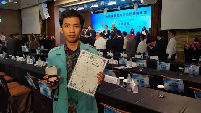 Buat Alat Pendeteksi Kapal Tenggelam, Mahasiswa UNS Raih Medali di Taiwan