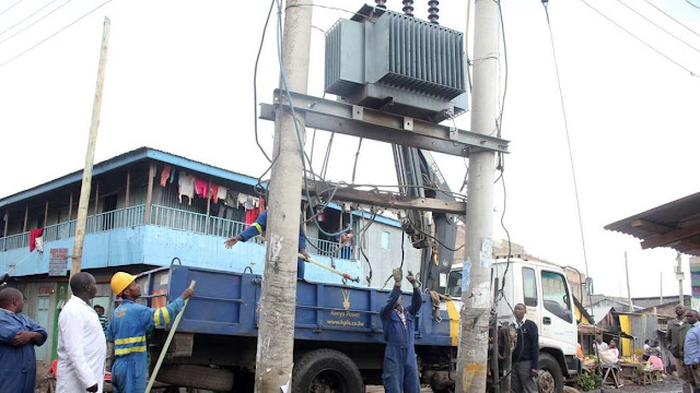 Kenya Power transformers