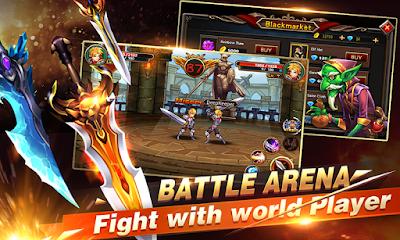 Tampilan Game Brave Fighter 2
