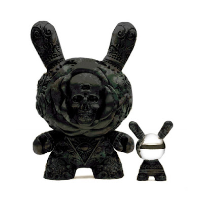 "The Clairvoyant Dunny Antique Black Edition 20"" Vinyl Figure by JRYU x Kidrobot"