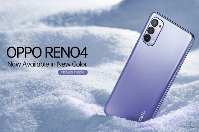 OPPO Introduces New Color Reno4 Nebula Purple