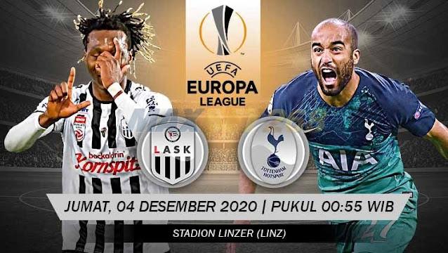 Prediksi LASK Linz Vs Tottenham Hotspur, Jumat 04 Desember 2020 Pukul 00.55 WIB