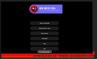 APK Editor Dark Version by Rizal