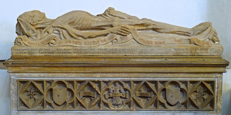 Ejemplo de transi tumba simple de John Baret
