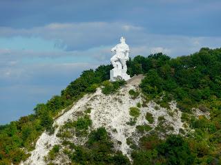 Святогорск. Памятник Артёму