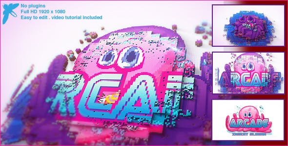 ARCADE LOGO[VIDEOHIVE][AFTER EFFECTS][15175743]