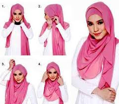 tutorial hijab simple namun elegan
