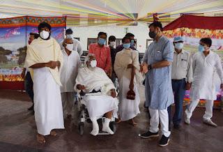 श्री मोहनखेड़ा में गुरुकृपा आरोग्यं कोविड केयर सेन्टर का हुआ शुभारम्भ
