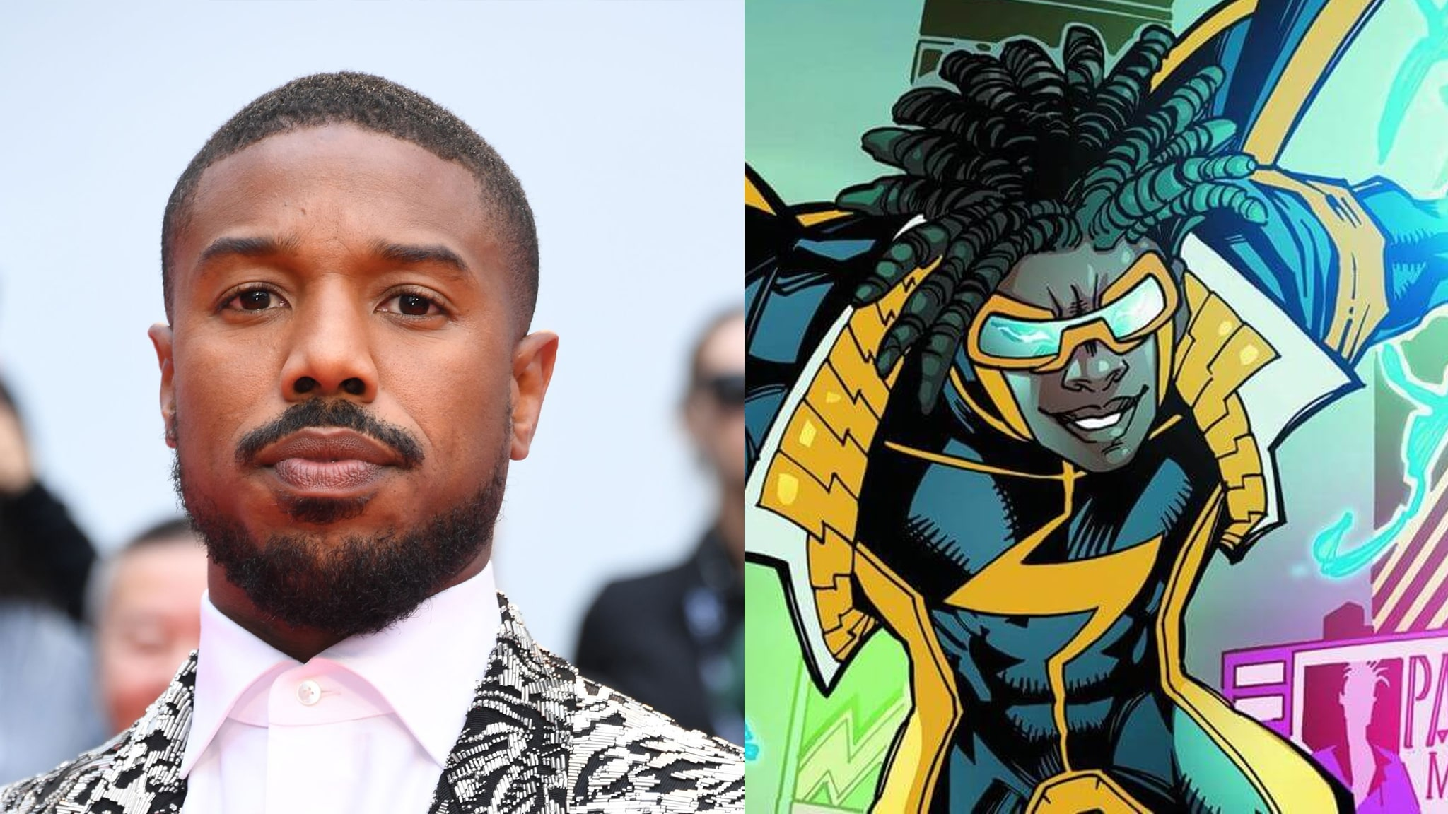 Michael B. Jordan Super-Choque