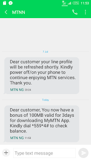 MTN Free 1GB Now Via MyApp USSD Code