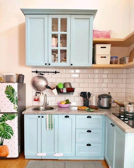 Kitchen Set pada Dapur Minimalis Sederhana