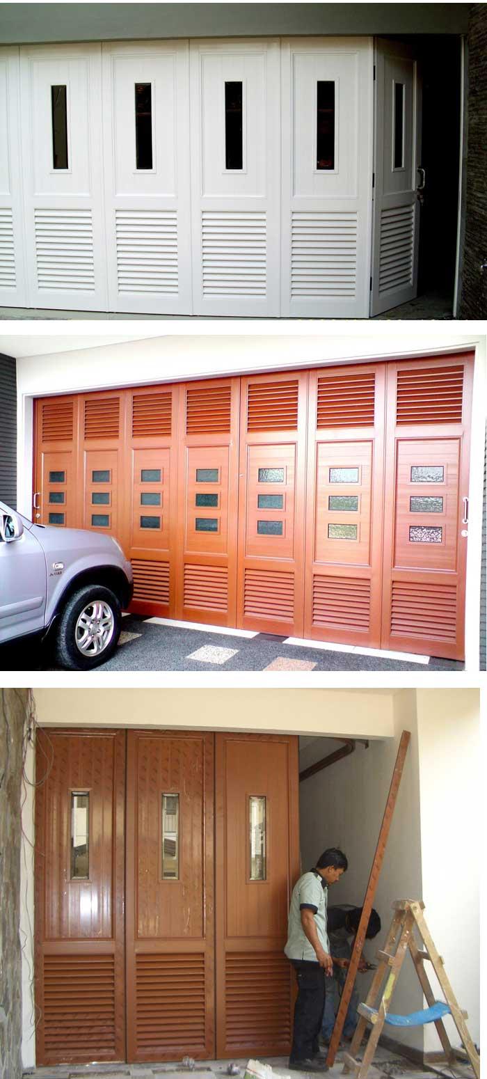 tukang pembuatan pintu garasi aluminium medan