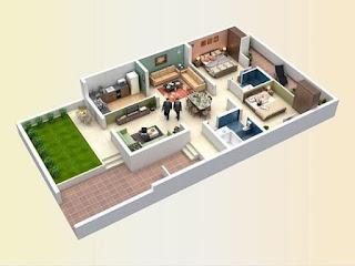 Desain Medern Denah Rumah