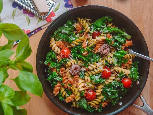 Anchovy Fillets Pasta