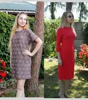 Sukienki z jerseyu :)