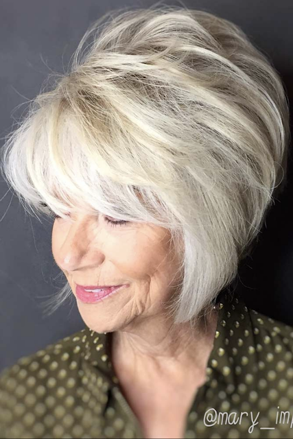 hairstyles for older women 2020