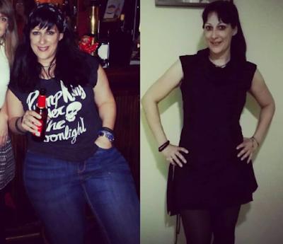 antes y después de adelgazar
