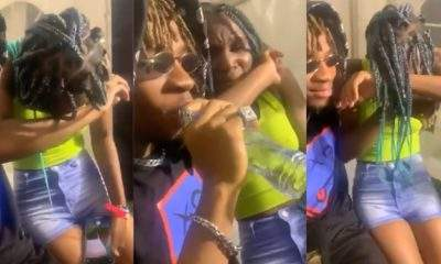 Lady Cries Non-Stop After Meeting With Singer, Joeboy For The First Time (Video)