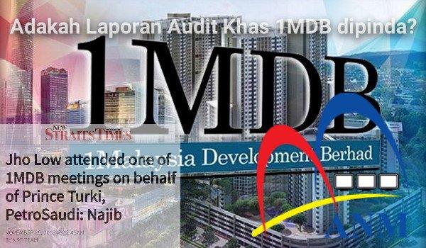 Adakah Laporan Audit Khas 1MDB dipinda?