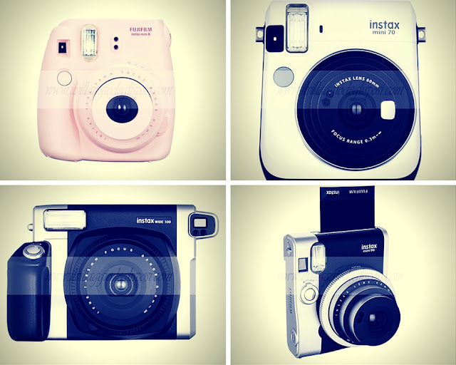 polaroid per un guestbook in stile fotografico