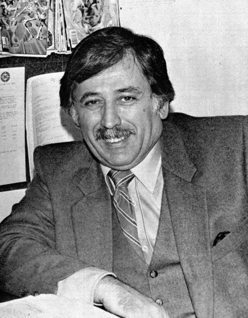 Dick Giordano at DC in the 1980s