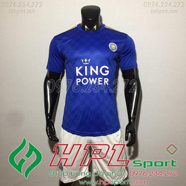 Áo câu lạc bộ Leicester City màu xanh 2020