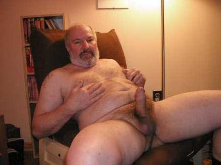 Abuelo Gay Jerk Off
