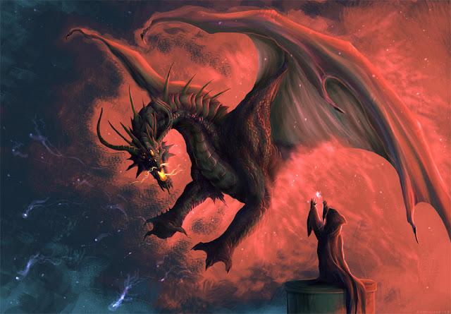 Gerador de nomes de Dragão e Magos