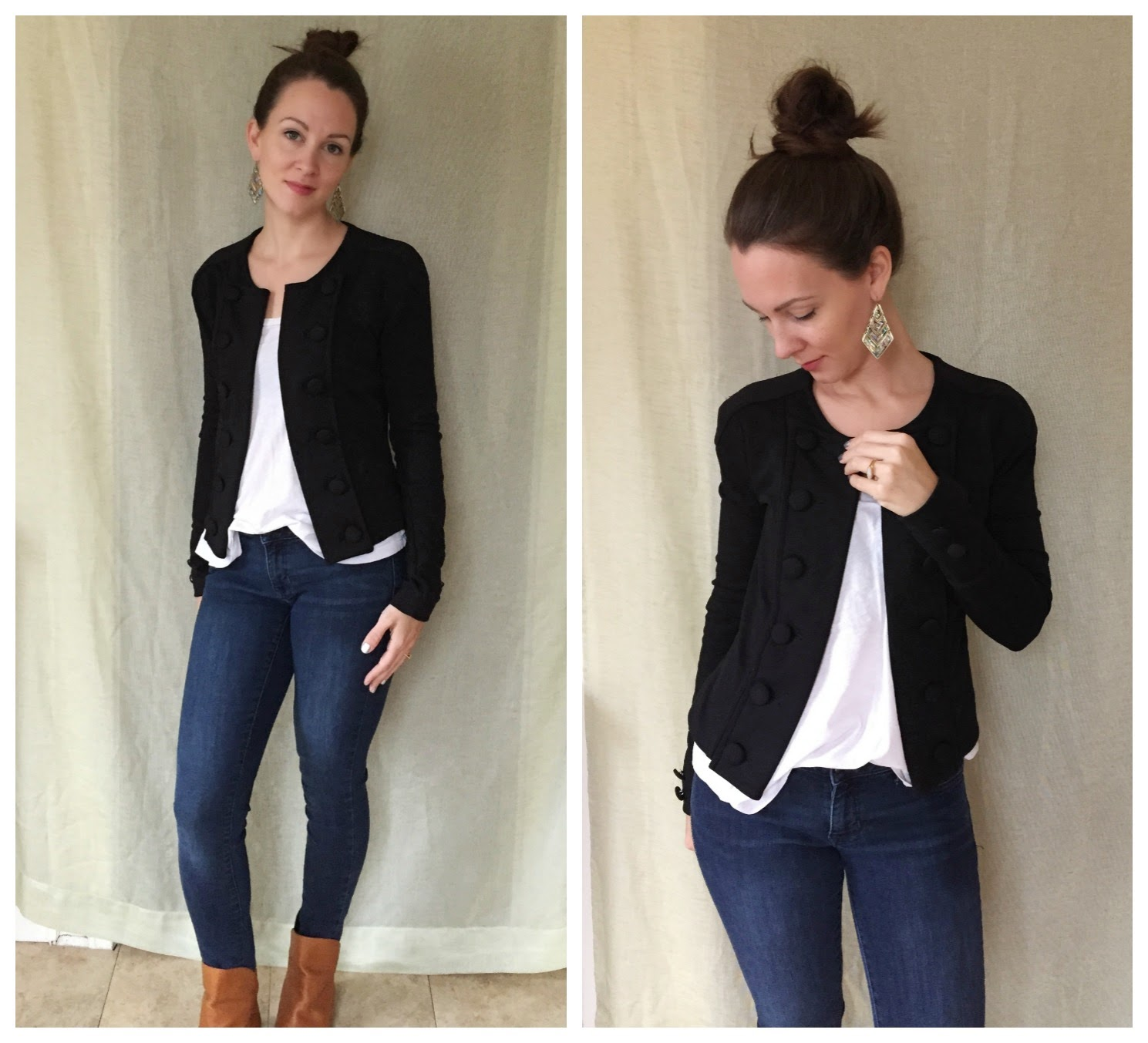 Little Did You Know...: Black Military Jacket