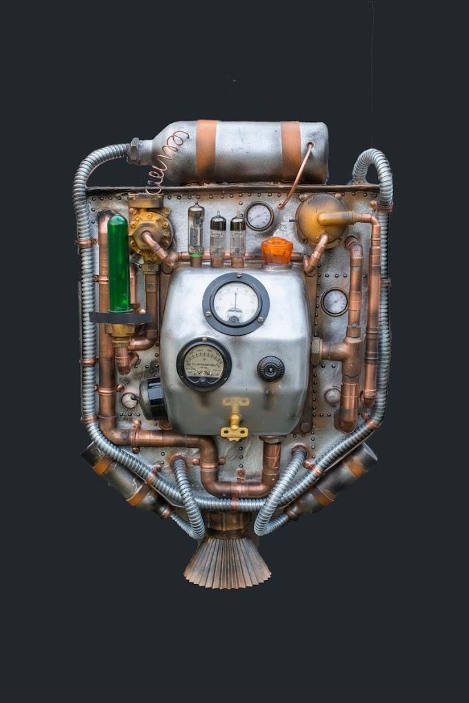 Steampunk Jet Backpack
